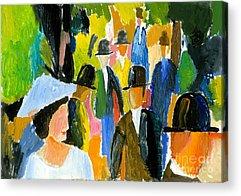 Paint Brushes Acrylic Prints