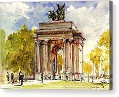 Hyde Park Acrylic Prints