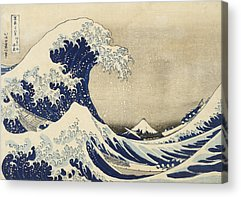 Hokusai Wave Acrylic Prints