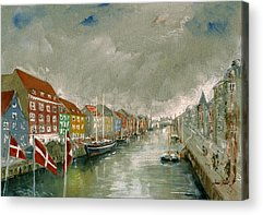 Denmark Acrylic Prints