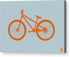 Bicycle Drawings Acrylic Prints