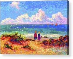 Big Island Paintings Acrylic Prints