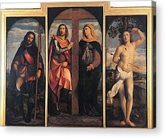 Sts Constantine And Helen Acrylic Prints