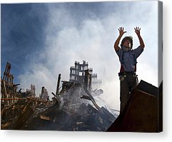 September 11 Attacks Acrylic Prints