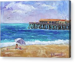 Redondo Beach Pier Acrylic Prints