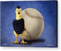 Chicks Acrylic Prints