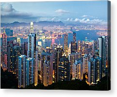 Hong Kong Acrylic Prints