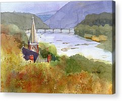 Harpers Ferry Acrylic Prints