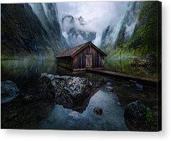Lake View Acrylic Prints