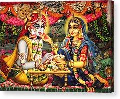 Krishna Acrylic Prints