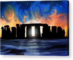 Stonehenge Acrylic Prints