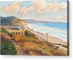 Del Mar Acrylic Prints