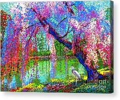 Egret Acrylic Prints