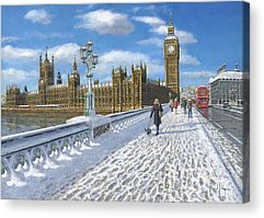 Palace Of Westminster Acrylic Prints