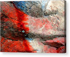 Abstract Expressionist Photographs Acrylic Prints