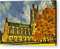 St John The Evangelist Acrylic Prints