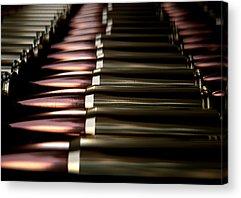 Ammunition Digital Art Acrylic Prints