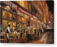 Night Cafe Acrylic Prints