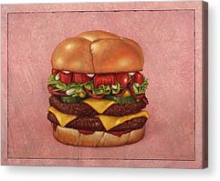 Burger Acrylic Prints