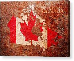 Maple Leaf Acrylic Prints