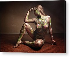 Bodypaint Acrylic Prints