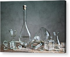 Glass Reflections Acrylic Prints