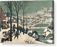 Snow Scene Acrylic Prints