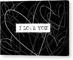 Love Notes Acrylic Prints