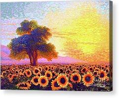 Prairie Landscape Acrylic Prints
