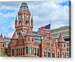 Courthouse Towers Acrylic Prints
