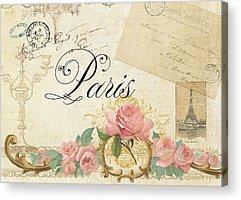 Plaster Of Paris Acrylic Prints