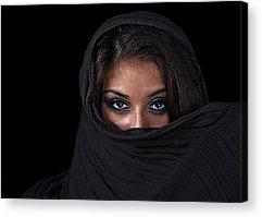 Beautiful Hijabs Acrylic Prints