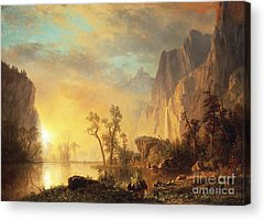 Hudson River School Paintings Acrylic Prints
