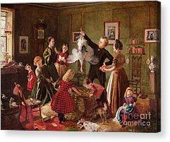 Father Christmas Acrylic Prints