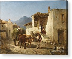 Warville Paintings Acrylic Prints