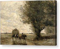 Corot Acrylic Prints