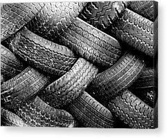Tires Photographs Acrylic Prints