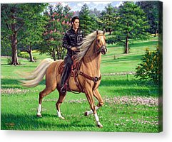 Designs Similar to Elvis Riding A Palomino