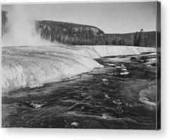 Firehole River Acrylic Prints