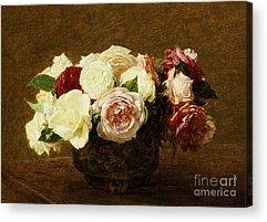 Pretty Flowers Acrylic Prints