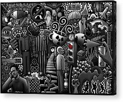 Box Digital Art Acrylic Prints