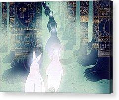 Mayan Character Acrylic Prints