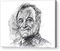 Robin Williams Comedian Acrylic Prints