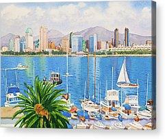 San Diego Acrylic Prints