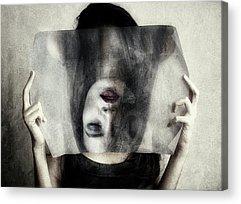 Hiding Photographs Acrylic Prints