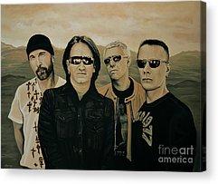 U2 Acrylic Prints
