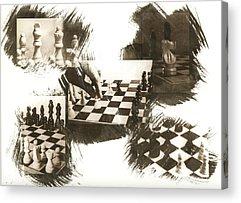 Van Dyke Brown Photographs Acrylic Prints
