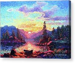 British Columbia Acrylic Prints