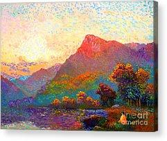 Vivid Colour Paintings Acrylic Prints