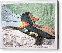 Princess Of Prussia 1767-1820 Paintings Acrylic Prints